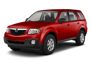 Sangria Red 2010 Mazda Tribute Pictures Tribute Utility 4D s 4WD photos front view