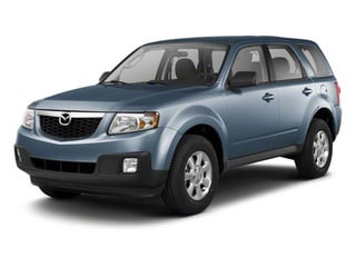 Steel Blue 2010 Mazda Tribute Pictures Tribute Utility 4D s 4WD photos front view