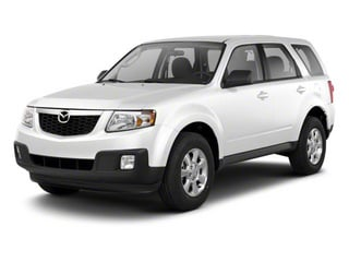 White Suede 2010 Mazda Tribute Pictures Tribute Utility 4D s 4WD photos front view