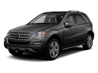 Steel Grey Metallic 2010 Mercedes-Benz M-Class Pictures M-Class Utility 4D ML350 4WD photos front view