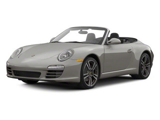 Meteor Grey Metallic 2010 Porsche 911 Pictures 911 Cabriolet 2D Turbo AWD photos front view