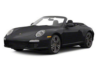 Black 2010 Porsche 911 Pictures 911 Cabriolet 2D 4 AWD photos front view