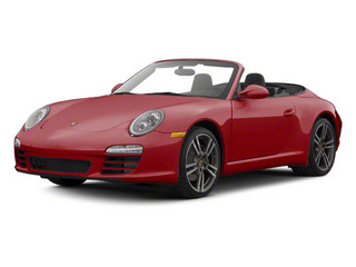 Ruby Red Metallic 2010 Porsche 911 Pictures 911 Cabriolet 2D Turbo AWD photos front view