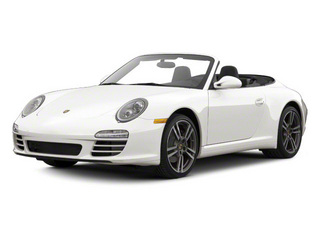 Carrara White 2010 Porsche 911 Pictures 911 Cabriolet 2D 4 AWD photos front view