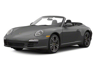 Atlas Grey Metallic 2010 Porsche 911 Pictures 911 Cabriolet 2D 4 AWD photos front view