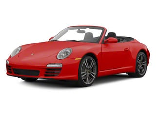 Guards Red 2010 Porsche 911 Pictures 911 Cabriolet 2D Turbo AWD photos front view