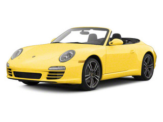 Speed Yellow 2010 Porsche 911 Pictures 911 Cabriolet 2D Turbo AWD photos front view