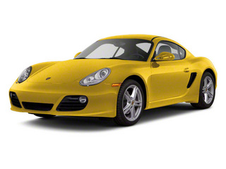 Speed Yellow 2010 Porsche Cayman Pictures Cayman Coupe 2D photos front view