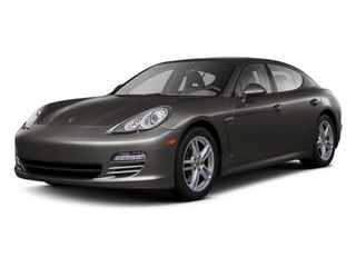 Carbon Grey Metallic 2010 Porsche Panamera Pictures Panamera Hatchback 4D Turbo AWD photos front view