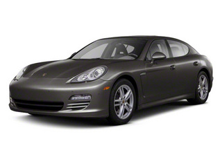 Carbon Grey Metallic 2010 Porsche Panamera Pictures Panamera Hatchback 4D S photos front view