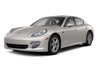 Platinum Silver Metallic 2010 Porsche Panamera Pictures Panamera Hatchback 4D Turbo AWD photos front view