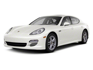 Carrara White 2010 Porsche Panamera Pictures Panamera Hatchback 4D Turbo AWD photos front view