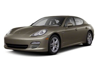 Topaz Brown Metallic 2010 Porsche Panamera Pictures Panamera Hatchback 4D Turbo AWD photos front view