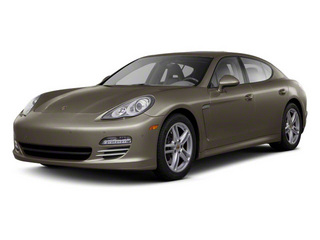 Topaz Brown Metallic 2010 Porsche Panamera Pictures Panamera Hatchback 4D S photos front view