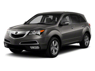 Grigio Metallic 2011 Acura MDX Pictures MDX Utility 4D Advance DVD AWD photos front view