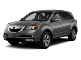 Polished Metal Metallic 2011 Acura MDX Pictures MDX Utility 4D Technology AWD photos front view