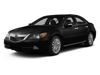 Crystal Black Pearl 2011 Acura RL Pictures RL Sedan 4D Technology photos front view
