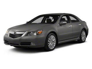 Forged Silver Metallic 2011 Acura RL Pictures RL Sedan 4D Advance AWD photos front view
