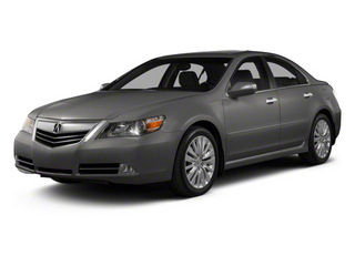 Forged Silver Metallic 2011 Acura RL Pictures RL Sedan 4D Technology photos front view