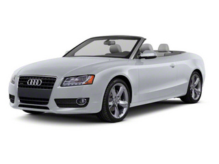 Quartz Gray Metallic 2011 Audi A5 Pictures A5 Convertible 2D Prestige photos front view