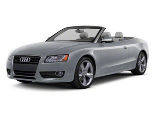 Meteor Gray Pearl 2011 Audi A5 Pictures A5 Convertible 2D S-Line photos front view