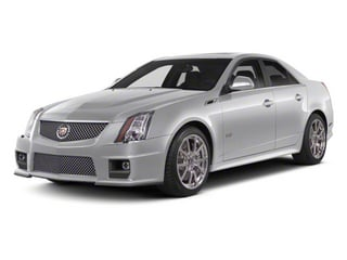 Radiant Silver Metallic 2011 Cadillac CTS-V Sedan Pictures CTS-V Sedan 4D V-Series photos front view