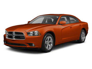 Toxic Orange Pearl 2011 Dodge Charger Pictures Charger Sedan 4D Police photos front view