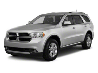 Bright Silver Metallic 2011 Dodge Durango Pictures Durango Utility 4D Crew 2WD photos front view