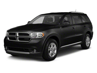 Brilliant Black Crystal Pearl 2011 Dodge Durango Pictures Durango Utility 4D Crew 2WD photos front view