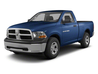 Deep Water Blue Pearl 2011 Ram Truck 1500 Pictures 1500 Regular Cab Tradesman 4WD photos front view