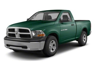 Hunter Green Pearl 2011 Ram Truck 1500 Pictures 1500 Regular Cab Tradesman 4WD photos front view