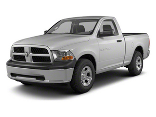 Bright Silver Metallic 2011 Ram Truck 1500 Pictures 1500 Regular Cab Tradesman 4WD photos front view
