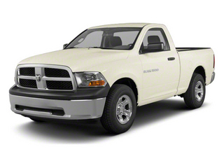 White Gold 2011 Ram Truck 1500 Pictures 1500 Regular Cab SLT 4WD photos front view