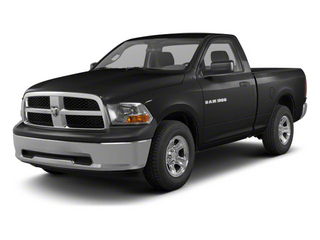 Brilliant Black Crystal Pearl 2011 Ram Truck 1500 Pictures 1500 Regular Cab Tradesman 4WD photos front view