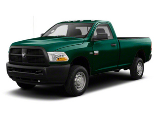Hunter Green Pearl 2011 Ram Truck 2500 Pictures 2500 Regular Cab Outdoorsman 2WD photos front view
