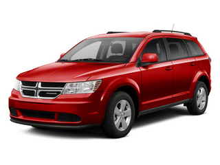 Deep Cherry Red Crystal Pearl 2011 Dodge Journey Pictures Journey Utility 4D Crew 2WD photos front view