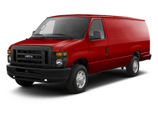 Vermillion Red 2011 Ford Econoline Wagon Pictures Econoline Wagon Super Duty Extended Wagon XLT photos front view