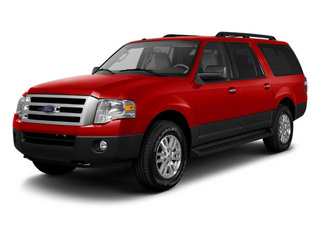 Vermillion Red 2011 Ford Expedition EL Pictures Expedition EL Utility 4D XL 4WD photos front view
