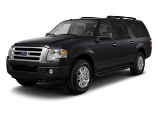 Black 2011 Ford Expedition EL Pictures Expedition EL Utility 4D XL 4WD photos front view