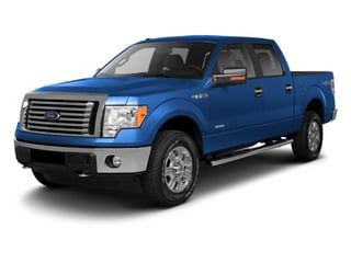 Blue Flame Metallic 2011 Ford F-150 Pictures F-150 SuperCrew XLT 2WD photos front view