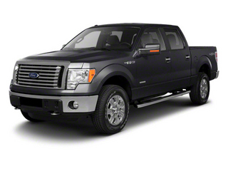 Black 2011 Ford F-150 Pictures F-150 SuperCrew King Ranch 2WD photos front view