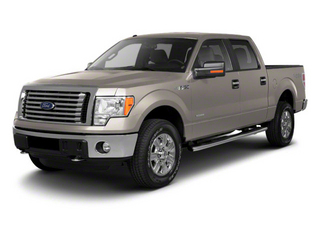 White Platinum Metallic Tri-Coat 2011 Ford F-150 Pictures F-150 SuperCrew King Ranch 2WD photos front view
