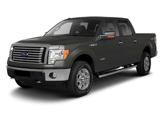 Sterling Gray Metallic 2011 Ford F-150 Pictures F-150 SuperCrew XLT 2WD photos front view