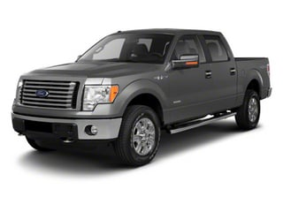 Ingot Silver Metallic 2011 Ford F-150 Pictures F-150 SuperCrew XLT 2WD photos front view
