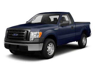 Dark Blue Pearl Metallic 2011 Ford F-150 Pictures F-150 Regular Cab XLT 2WD photos front view