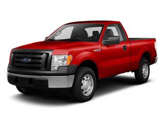 Red Candy Metallic 2011 Ford F-150 Pictures F-150 Regular Cab XLT 2WD photos front view