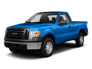 Blue Flame Metallic 2011 Ford F-150 Pictures F-150 Regular Cab XLT 2WD photos front view