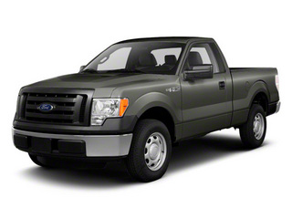 Sterling Gray Metallic 2011 Ford F-150 Pictures F-150 Regular Cab XLT 2WD photos front view