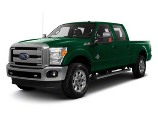 Forest Green Metallic 2011 Ford Super Duty F-250 SRW Pictures Super Duty F-250 SRW Crew Cab XLT 2WD photos front view
