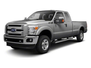 Ingot Silver Metallic 2011 Ford Super Duty F-250 SRW Pictures Super Duty F-250 SRW Supercab XL 2WD photos front view